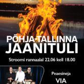 Põhja-Tallinna Jaanituli 2018